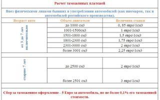 Таможенные пошлины на авто: какие ставки на ввоз, расчет суммы