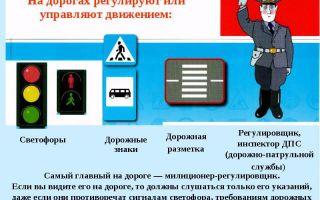 Какие дорожные знаки отменяются сигналами светофора, их значения, требования регулировщика, дорожная разметка