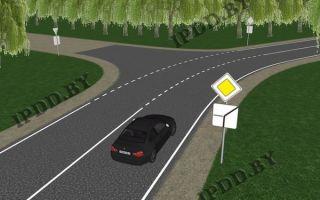 Дтп, главная — что будет за аварию на главной дороге, выезд на главную, на перекрестке, обозначения главной, ее повороты и знаки