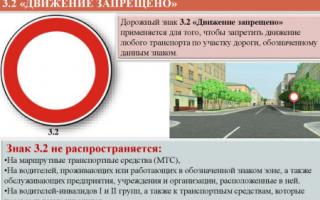 Знак «проезд запрещен»: штраф за движение под ним, какой штраф за сквозной проезд, въезд запрещен, движение запрещено, если грузовое авто