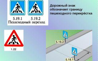Дорожный знак пешеходный переход: правило, зона действия, установка, переход запрещен, желтый, красный цвет, размер, что объединяет их