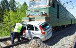 Дтп на железнодорожном переезде: что будет, если авария поезда и автомобиля на железной дороге