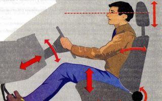 Как правильно сидеть за рулем, если езда в автомобиле по городу, принцип посадки в машину
