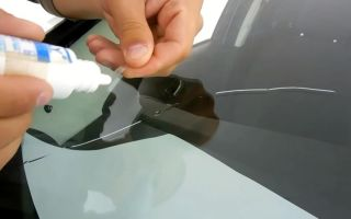 Трещина на стекле авто: как остановить, заделать, ремонт на лобовом, как убрать, оборудование для заделки, регистрация авто