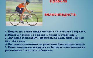 Правила поведения велосипедиста на дороге: основы движения, поведения, безопасности