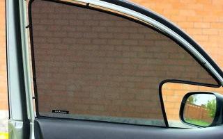 Шторки вместо тонировки для автомобиля — каркасные, на магнитах, своими руками на окна