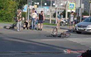 Дтп с велосипедистом: причины аварии, что делать, если сбил машиной, кто виноват на пешеходном переходе, наезд с участием велосипедиста