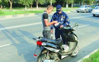 Штраф за езду на мотоцикле: что будет, если катался без прав, шлема, категории, с пассажиром, без номера, страховки, документов, несовершеннолетним, на незарегистрированном мотоцикле