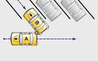 Дтп задним ходом — штраф: какой размер наказания, что будет за аварию на парковке