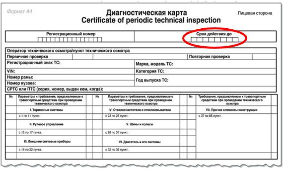 Диагностическая карта для осаго москва адреса