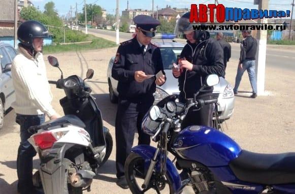 Езда без страховки на мотоцикле