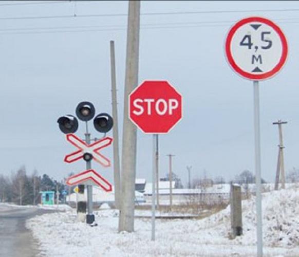 Штраф за знак стоп на переезде